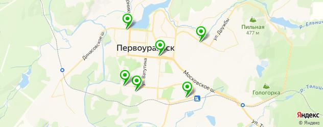 караоке на карте Первоуральска