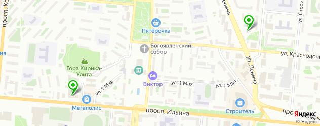 спортивные школы на карте Первоуральска