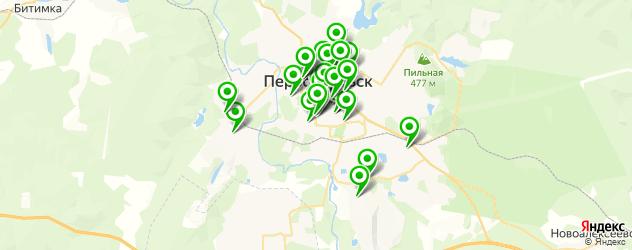 аптеки на карте Первоуральска