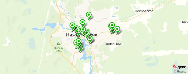 Образование и развитие на карте Нижнего Тагила