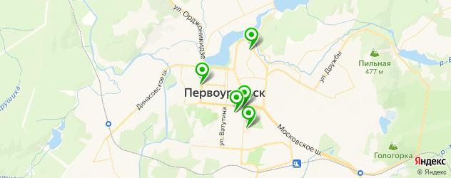 прачечные на карте Первоуральска