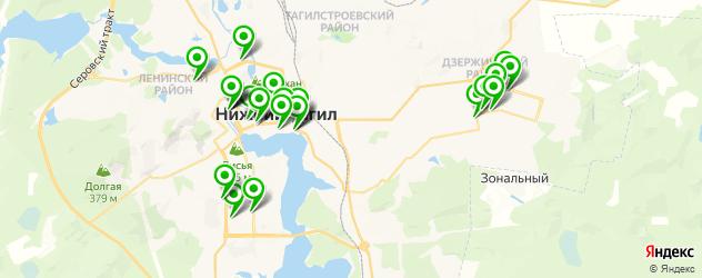 рестораны для дня рождения на карте Нижнего Тагила