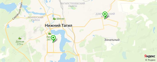 детейлинги центр на карте Нижнего Тагила