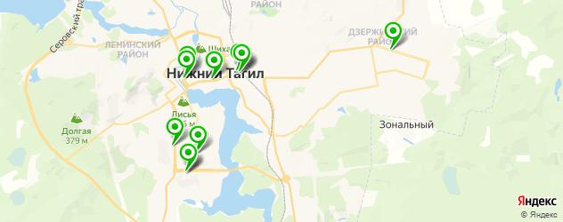 изготовления ключей на карте Нижнего Тагила