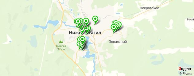 стоматологические клиники на карте Нижнего Тагила