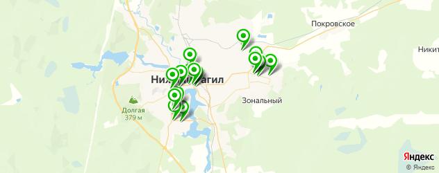 диагностические центры на карте Нижнего Тагила