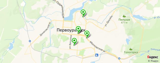 живая музыка на карте Первоуральска