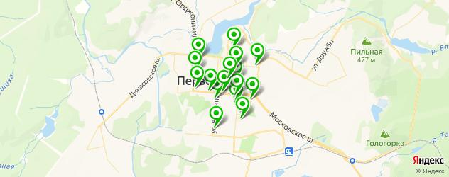 швейные мастерские на карте Первоуральска