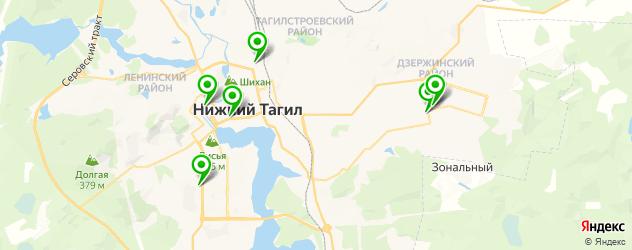 русские рестораны на карте Нижнего Тагила