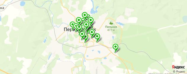 бесплатный Wi-Fi на карте Первоуральска