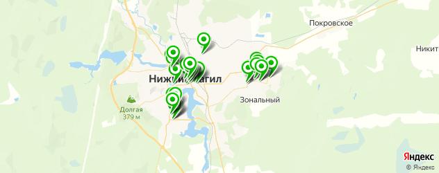 ломбарды на карте Нижнего Тагила