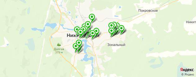 спорты-бары на карте Нижнего Тагила
