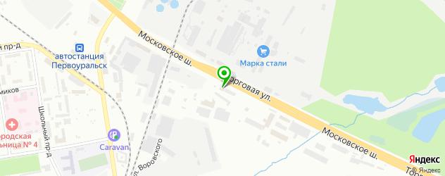 шахматные школы на карте Первоуральска