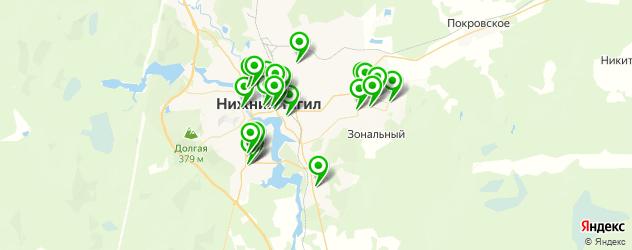 агентства праздников на карте Нижнего Тагила