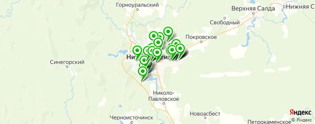 мебельные мастерские на карте Нижнего Тагила