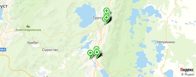 банкоматы с функцией приема наличных на карте Миасса