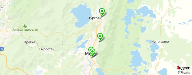 детские развлекательные центры на карте Миасса