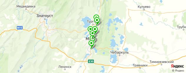художественные школы на карте Миасса