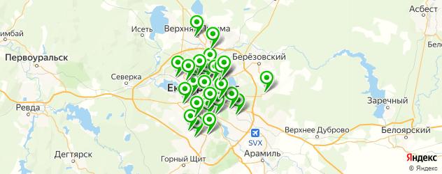 ремонт сцепления на карте Екатеринбурга