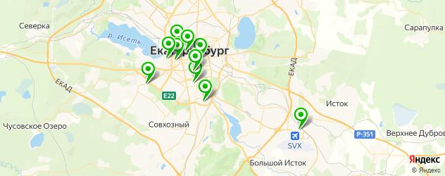 наращивание ногтей гелем на карте Екатеринбурга