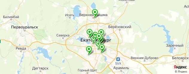 прессотерапия на карте Екатеринбурга