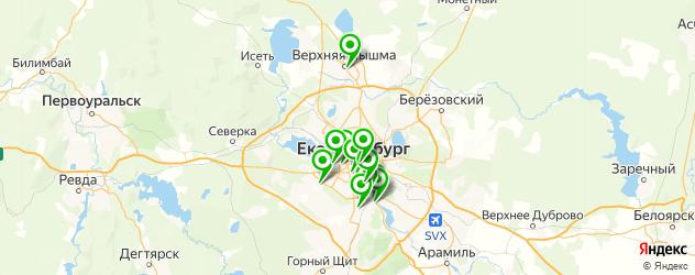 кератиновое выпрямление волос на карте Екатеринбурга
