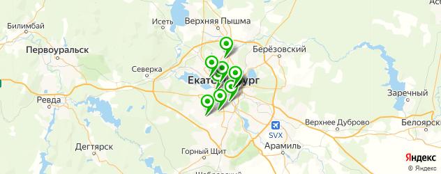 медовый массаж на карте Екатеринбурга