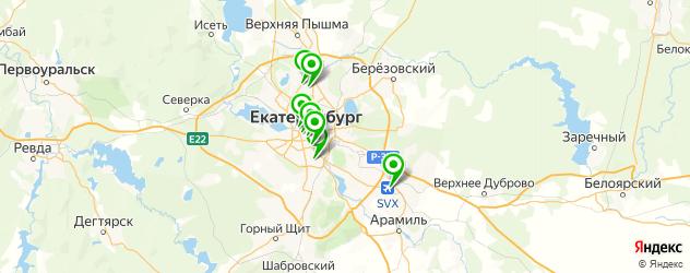 ремонт ps3 на карте Екатеринбурга