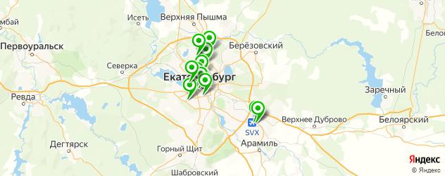 срочный ремонт ноутбуков на карте Екатеринбурга