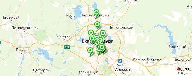 вакуумный массаж на карте Екатеринбурга