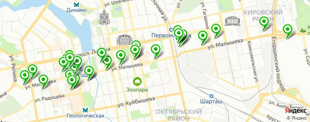 печать фото на карте улицы Малышева