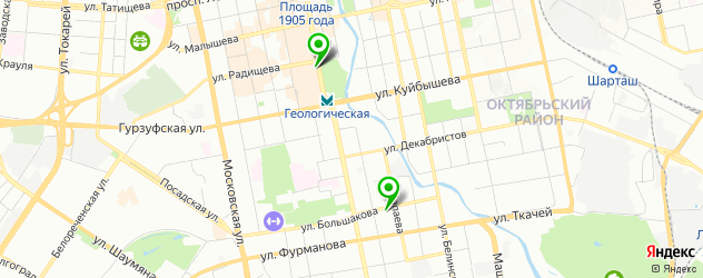 ремонт весов электронных на карте Екатеринбурга