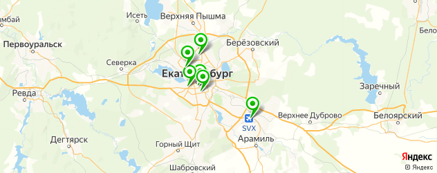 ремонт утюгов на карте Екатеринбурга