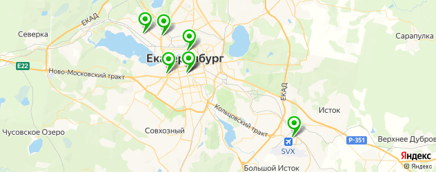 ремонт кухонных комбайнов на карте Екатеринбурга