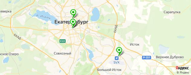 ремонт шуруповертов на карте Екатеринбурга