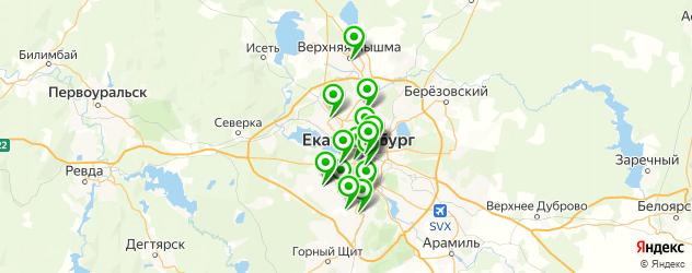 пирожное на заказ на карте Екатеринбурга