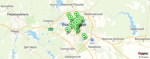 торты на день рождения на карте Екатеринбурга