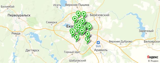 частные школы на карте Екатеринбурга