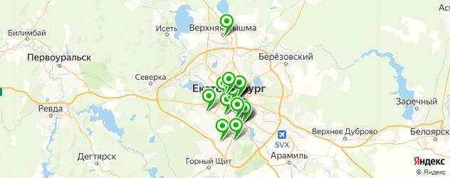 ламинирование ресниц на карте Екатеринбурга