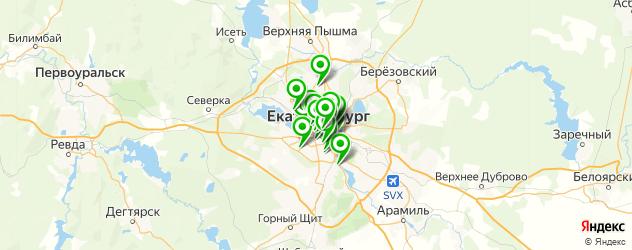 визажист на карте Екатеринбурга