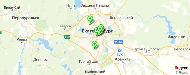 пряники на заказ на карте Екатеринбурга