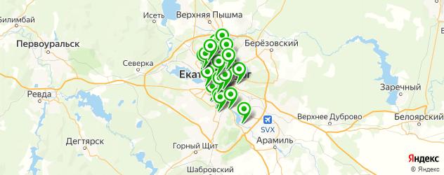 ведение беременности на карте Екатеринбурга