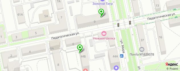 массажные салоны на карте Библиотечной улицы
