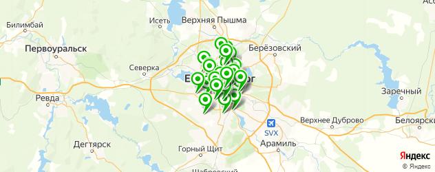 багетные мастерские на карте Екатеринбурга