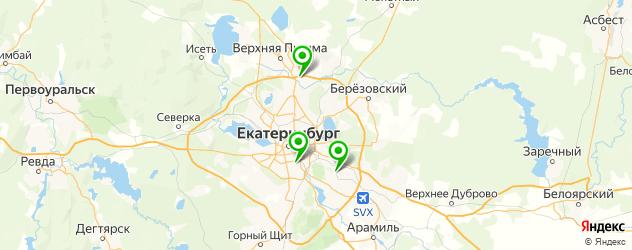 насечки на тормозных дисках на карте Екатеринбурга