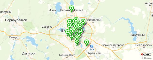 тюнинг двигателей на карте Екатеринбурга