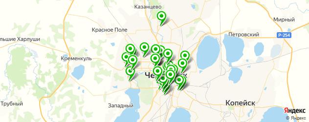 свадебные агентства на карте Челябинска