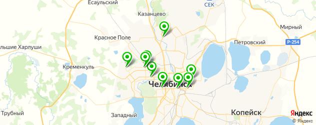 брондирование волос на карте Челябинска