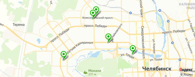 ламинирование ресниц на карте Челябинска