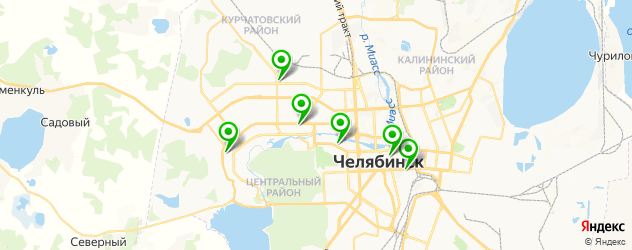 аппаратный массаж на карте Челябинска